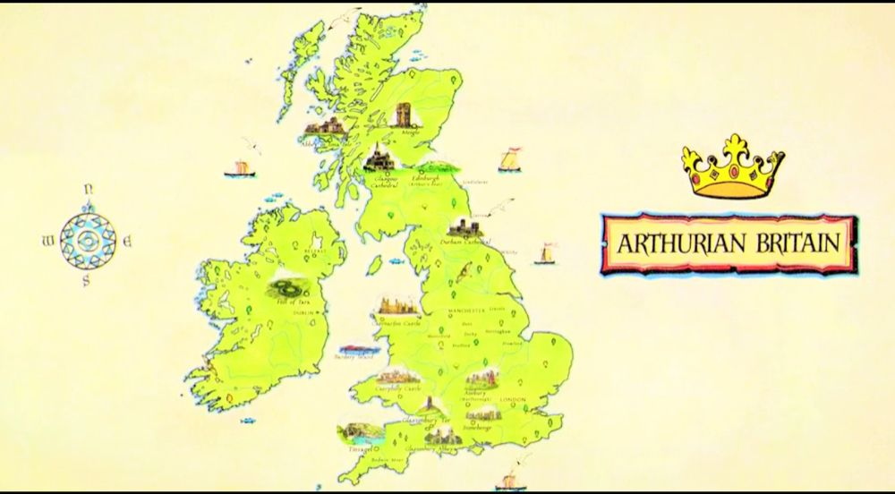 Map Of England King Arthur.Map Of Arthurian Britain King Arthur In 2019 King Arthur Lisa