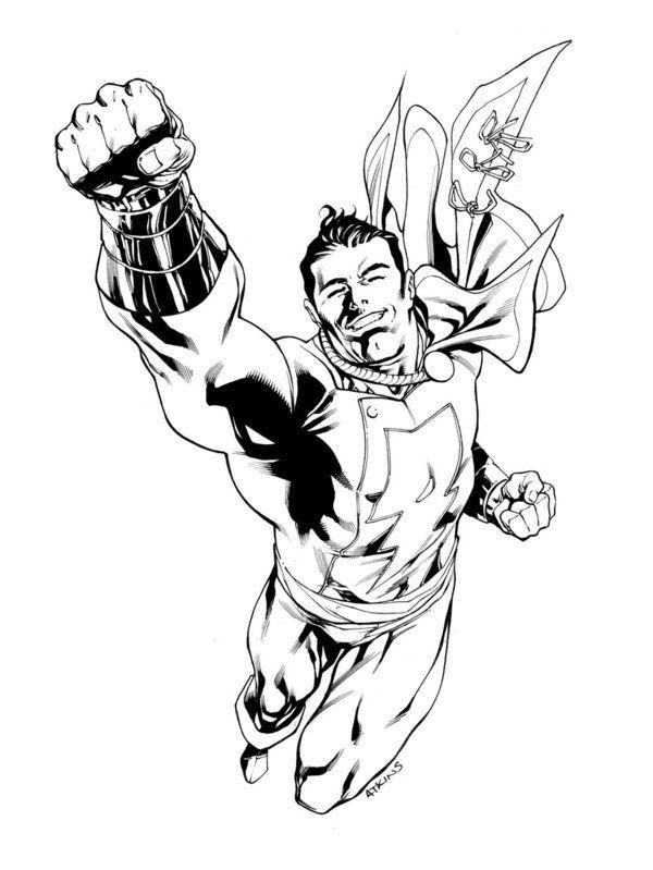 Jla January Captain Marvel Sotd Captain Marvel Shazam Captain Marvel Mr Marvel