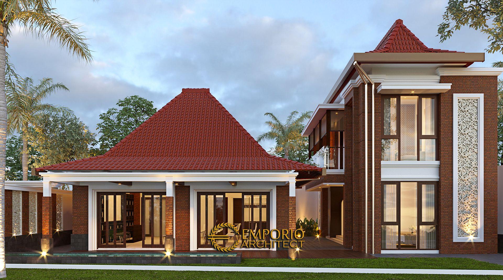 Desain Pendopo Klasik Jawa 2 Lantai Bapak Erwin Di Cibubur Jakarta Timur Di 2021 Arsitek Desain Rumah Modern Desain Rumah