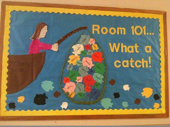 Classroom Motivation Ideas : Classroom bulletin board ideas caught