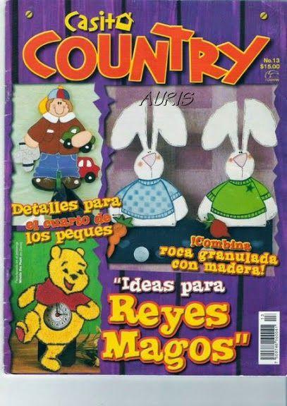 Revistas de manualidades Gratis: Manualidades country paso a paso