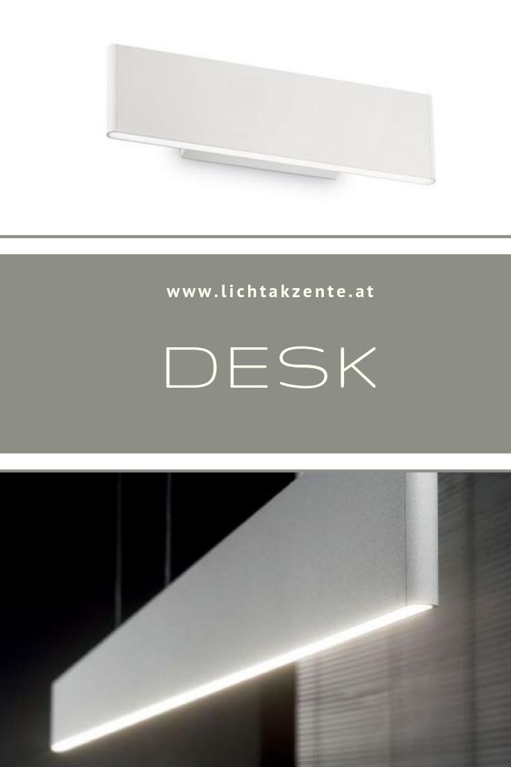 Ideal Lux Flache Led Wandlampe Desk Beleuchtung Decke Lampen Wandleuchte
