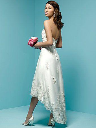 Modelos de vestidos cortos para boda civil