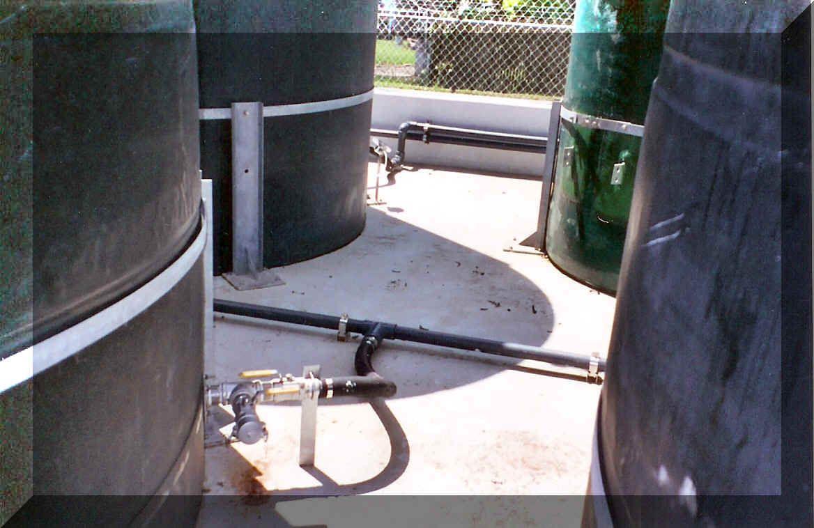 Fiber Glass Tank 10 000 Gallons 24 Feet In Height Rain Water Collection Water Collection Water Tank
