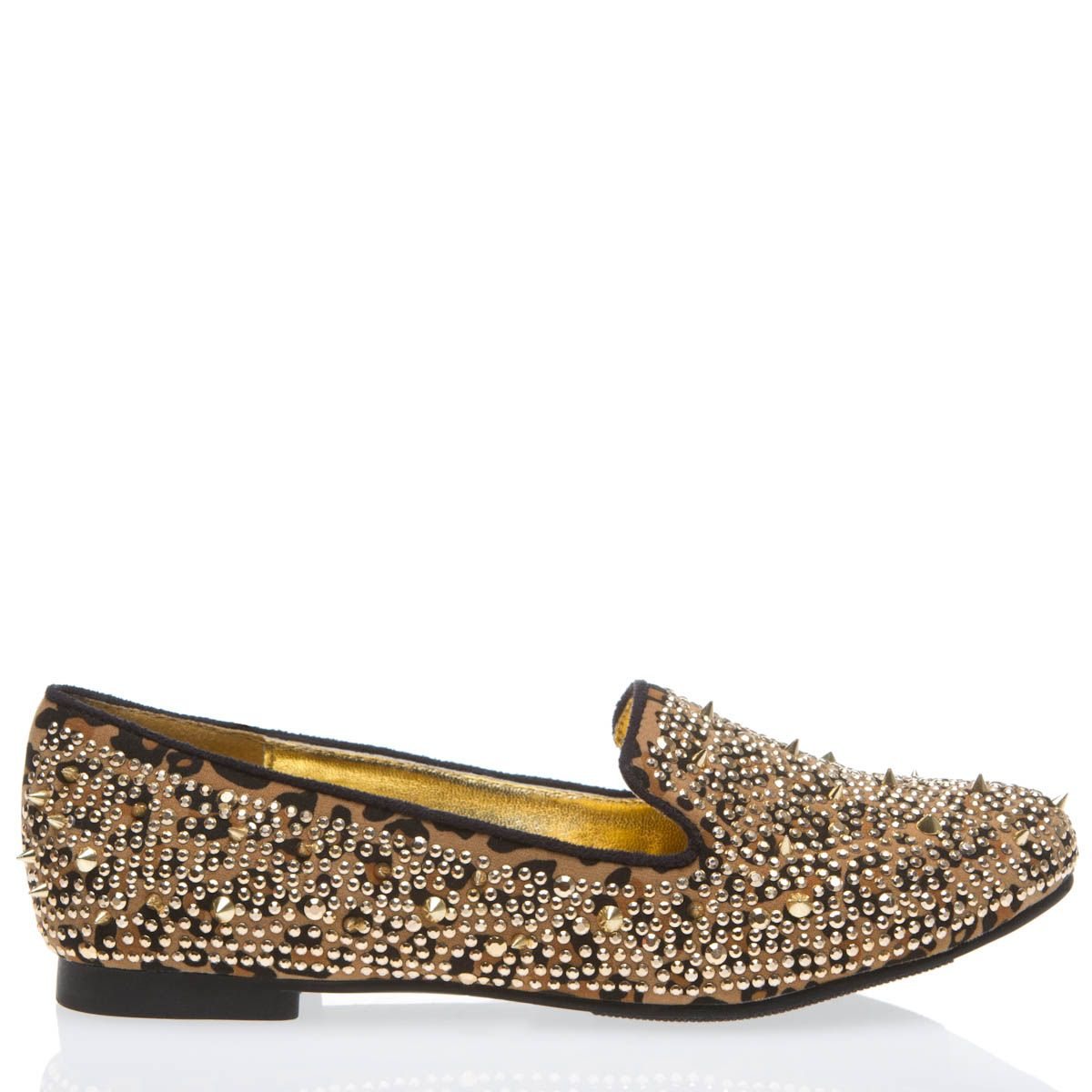 studded leopard print loafers: ridiculous. and awesome.