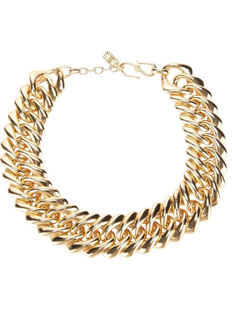 YSL Vintage Chain Necklace