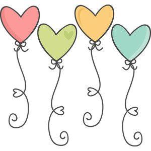 #119987: heart ballons