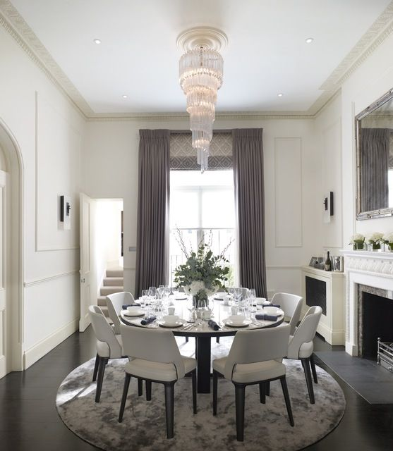 inside a sophisticated london pied