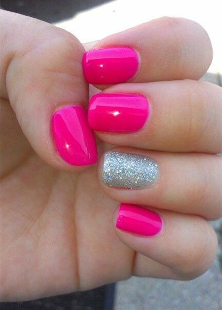 Are You Looking For Simple Summer Nails Designs Easy That Are Excellent For This Summer See Our Collection Full Of Si Pink Nails Pink Nail Polish Colors Nails