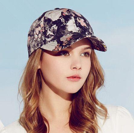 35ecf60bf01c31 Fashion floral baseball caps for girls summer wear | Hats | Baseball ...