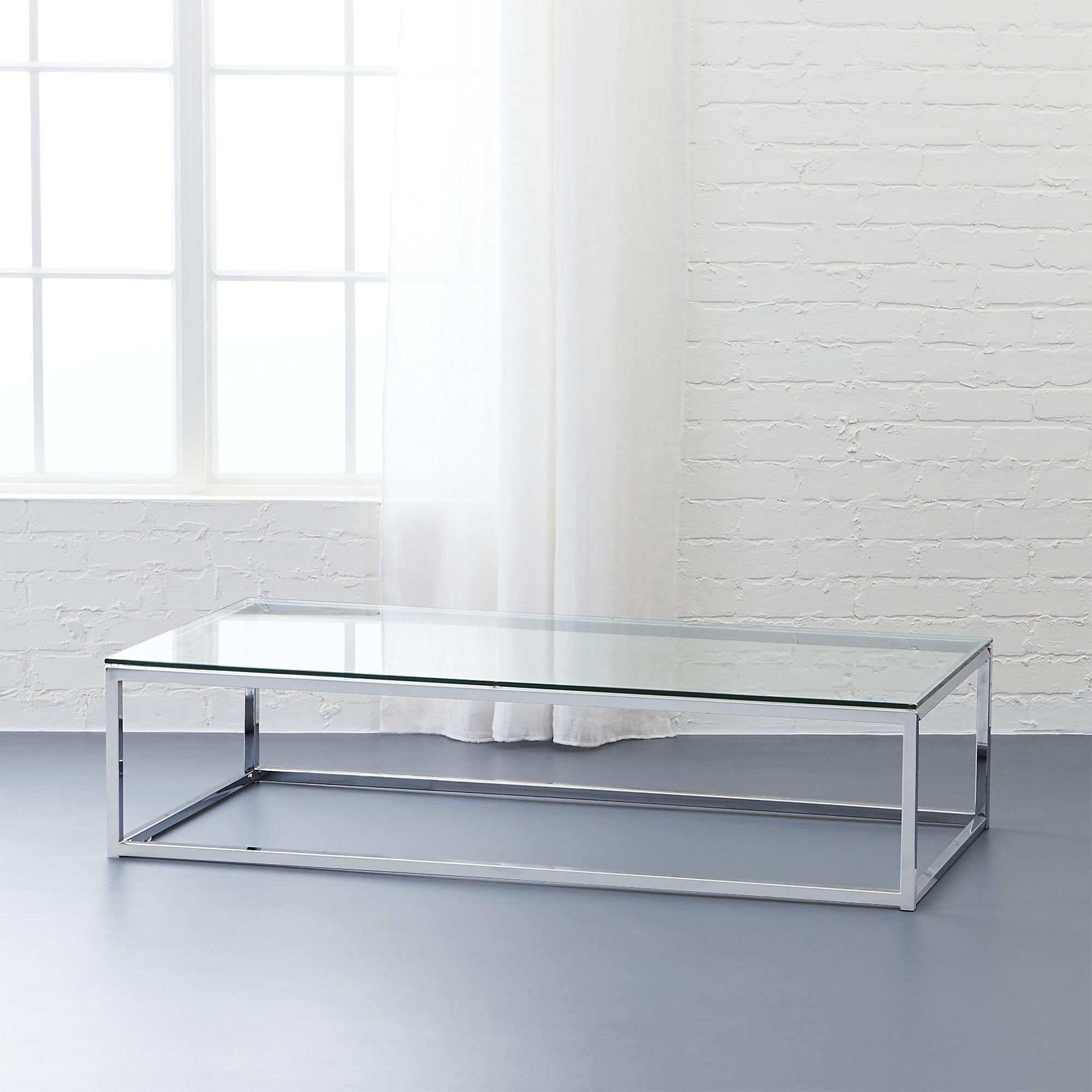 smart glass top coffee table  Glass top coffee table, Coffee