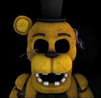 Golden Freddy Fnaf 2 Fnaf Horror Game Geek Stuff