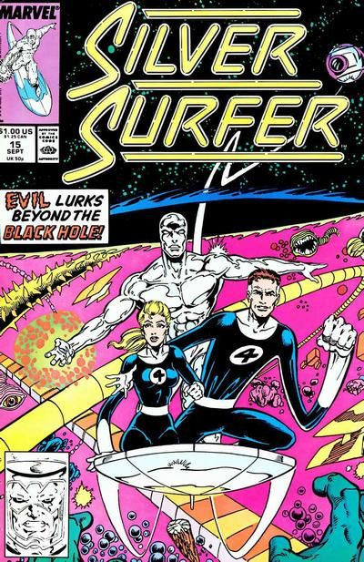 Silver Surfer Vol. 3 # 15 by Ron Lim & Joe Rubinstein