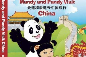 Worksheets For China : Mandy and pandy visit china. the preview lets you see hear first