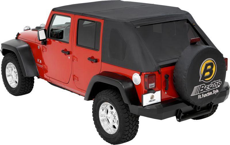 Bestop Trektop In Black Diamond For 07 14 Jeep Wrangler Unlimited Jk 4 Door 620 16 Now That The Je Jeep Wrangler Jeep Wrangler Unlimited Jeep Accessories