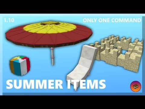 How To Decorate A Beach In Only One Command Minecraft Minecraft Minecraft Blueprints Minecraft Commands