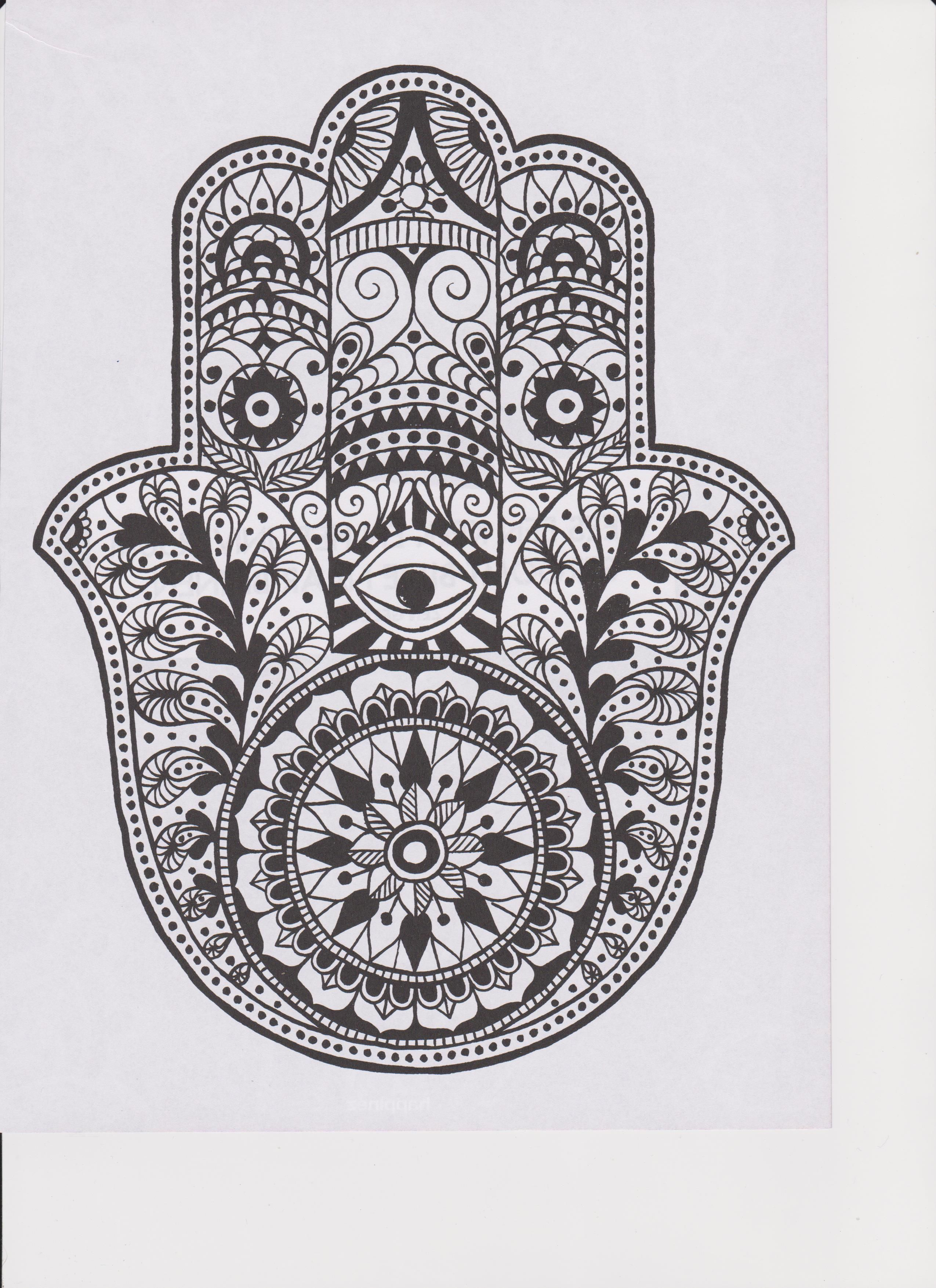 La Mano De Fatima Libro Pin De Danielle Wright En Coloring Pages Pinterest