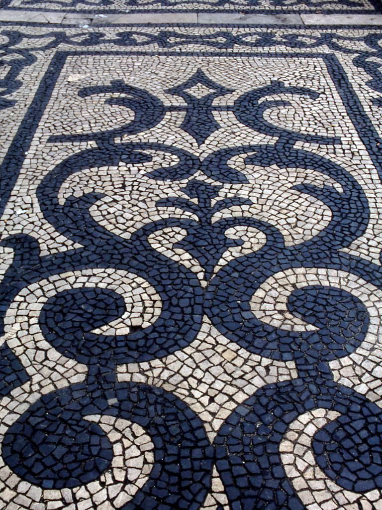 jeffrey bale's world of gardens: pebble mosaic for the garden