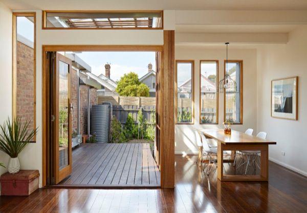 Patio interior acristalado buscar con google reforma for Casas con patio interior