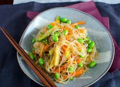 Shirataki Noodle Recipes: The No-Carb Pasta. It's made from a type of yam that's packed with dietary fiber but has no carbohydrates!