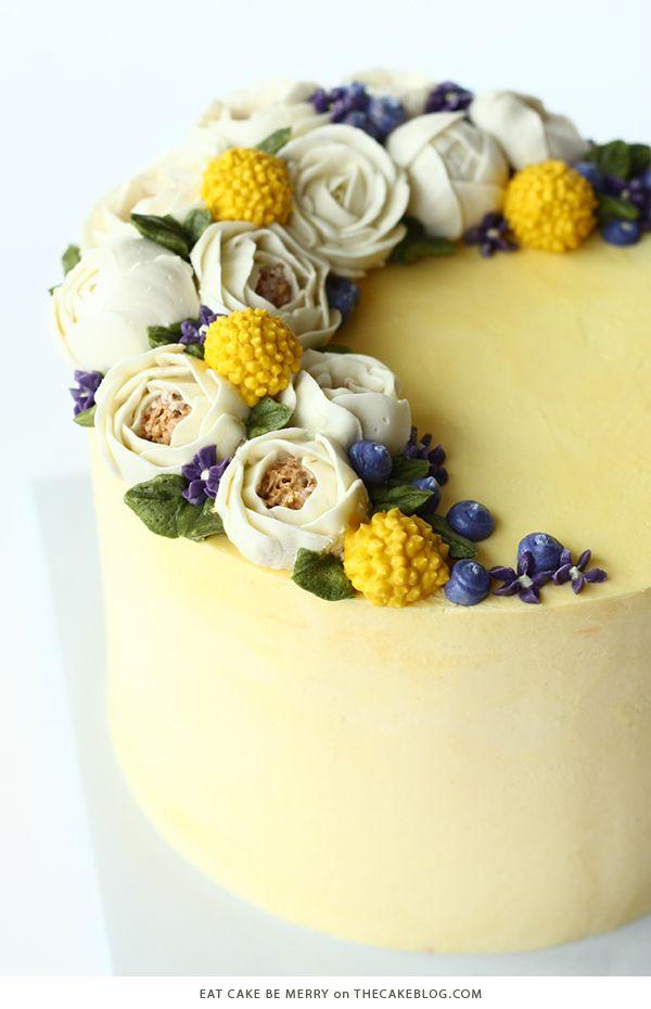 10 Brilliant Yellow Cakes   It\'s A Celebration: C A K E S ...