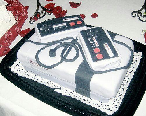 Nintendo cake!- want!