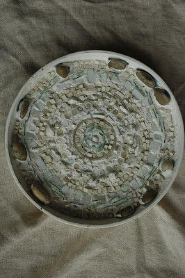 reclaimed mosaics - a world of inspiration, mosaic in a tea tray