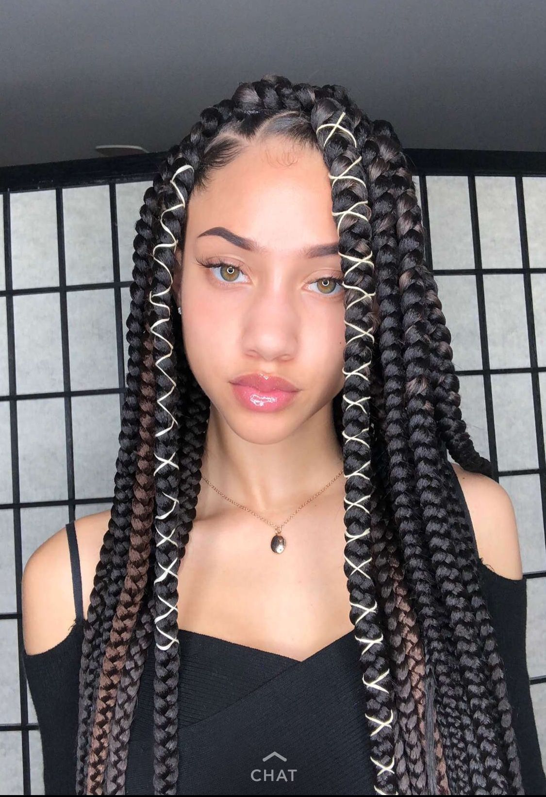 Unique Girl Box Braids Hairstyle 2021 In 2020 Hair Videos Box Braids Hairstyles Cute Little Girl Hairstyles