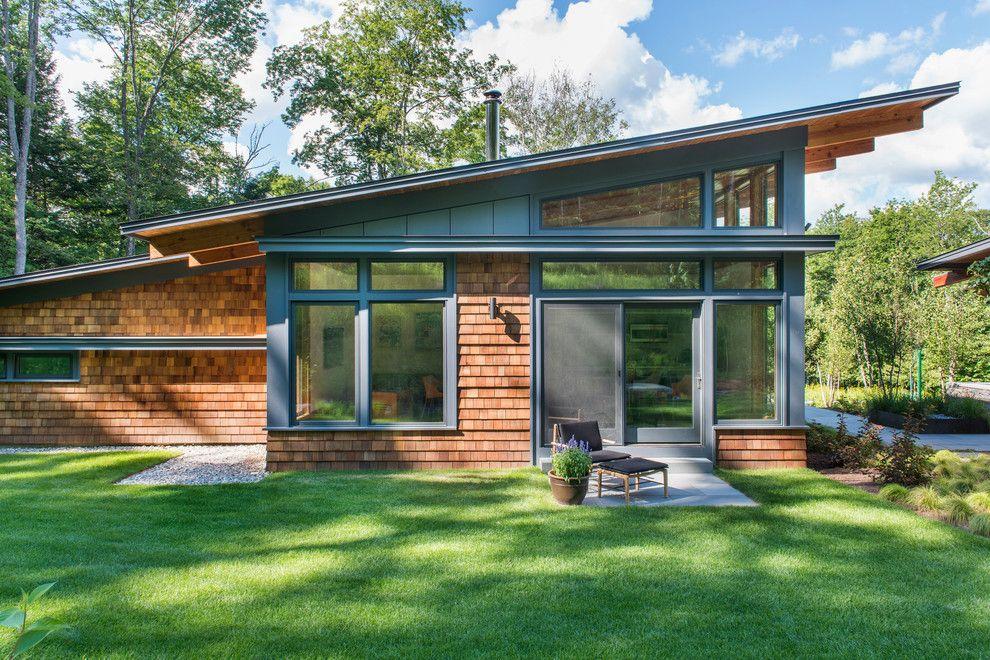 Casa de campo 22 casas chicas granero quincho for Modelos de casas de campo modernas