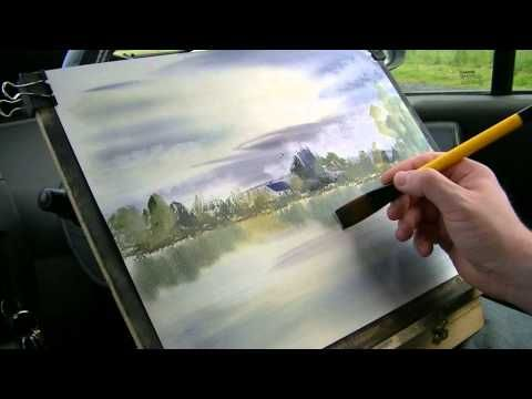 Kingsbury Part 2 Of 2 Watercolour Painting Demo Youtube