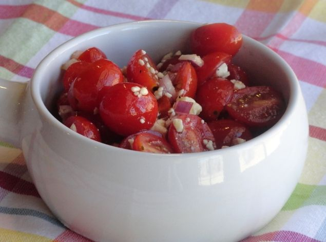 Grape Tomato Salad: Photo - 2 | Just A Pinch Recipes
