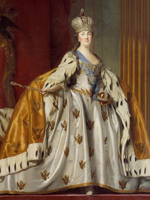 Российская императрица Екатерина II. | Фото: livemaster.ru ...