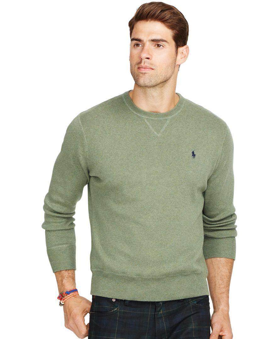7ac47e3eab027 Polo Ralph Lauren Cotton Crew-Neck Sweatshirt