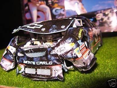 DALE EARNHARDT SR. 2001 DAYTONA 500 CRASH CAR 1/24 (07/10 ...