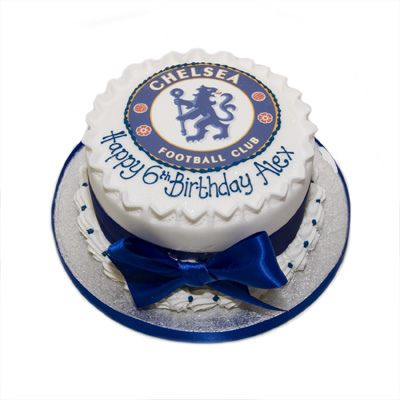 Chelsea Birthday Cake