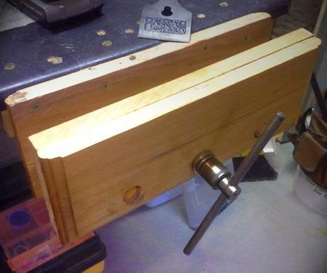 Make Your Own Bench Vise Workbench Vise Workbench Vice Woodworking Workbench