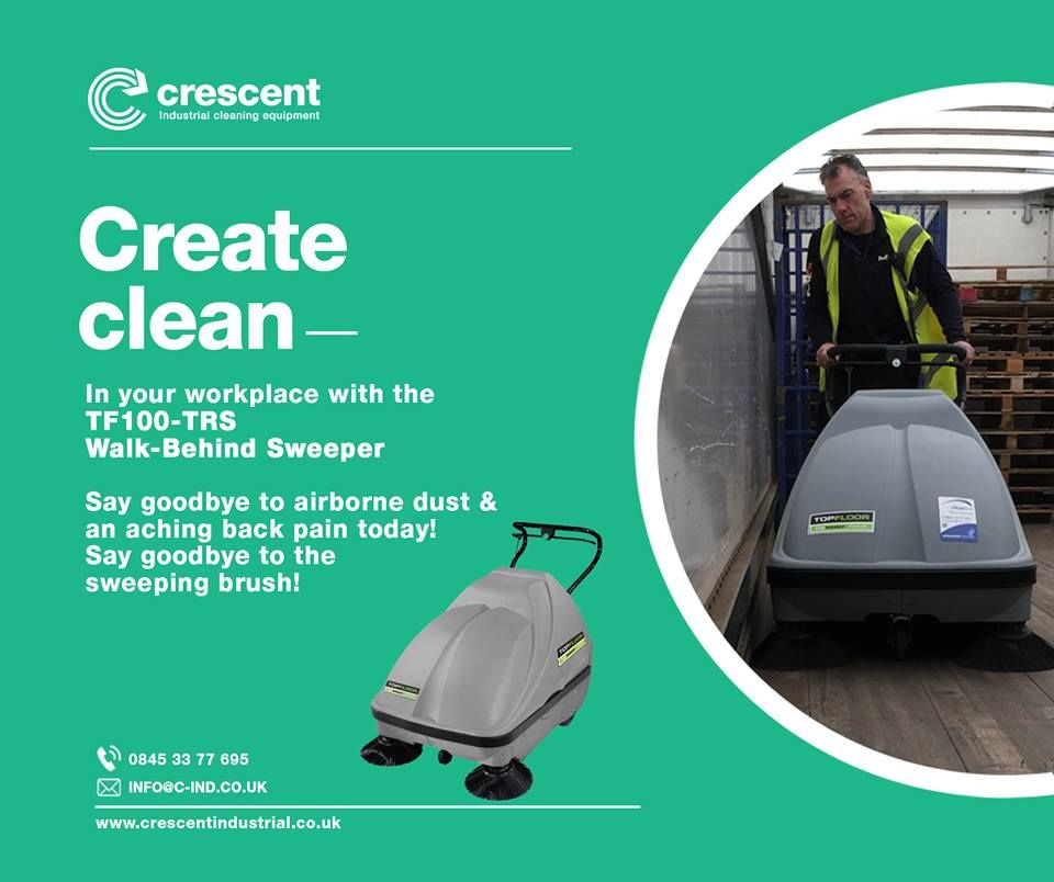 Sweeper for Car Park Industrial flooring, Cleaning