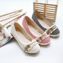 Femmes flats mode Bowtie casual travail de bureau douce tissu haute qualité new femmes seule chaussures livraison gratuite grande taille 5 - 14(China (Mainland))
