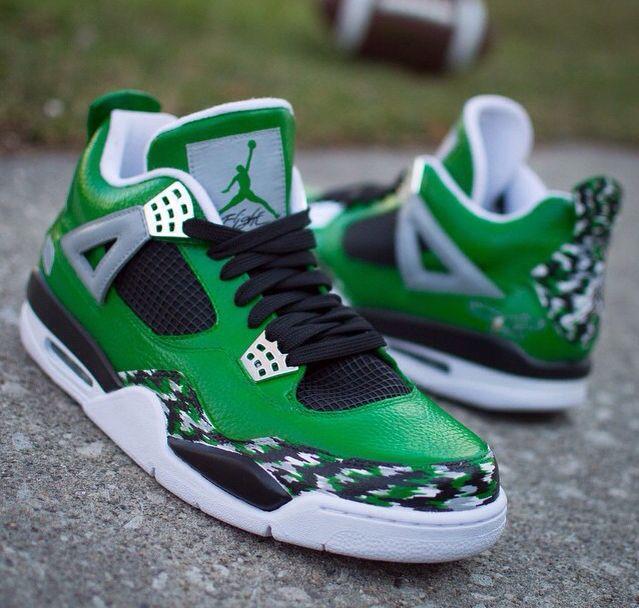 46c76d3d86d Custom 3s. Celtics or Eagles? | Custom Js | Sneakers nike, Custom ...