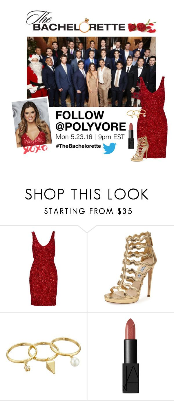 """The Bachelorette Live Tweeting!"" by polyvore-editorial ❤ liked on Polyvore featuring Parker, Prada, Rebecca Minkoff and NARS Cosmetics"