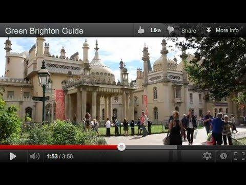 Green Brighton Guide Greentraveller Videos Pinterest Brighton