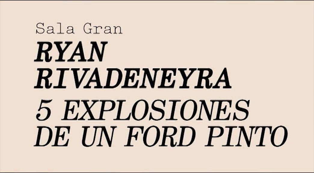 La Capella   Ryan Rivadeneyra.  5 Explosiones de un Ford Pinto (vos català)
