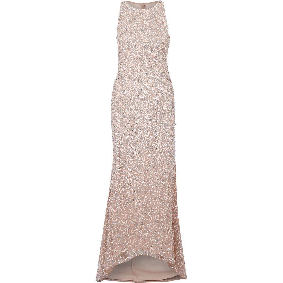 98e6dd4306a41 Blush Sequin Gown - Evening Dresses - Occasion Dresses - Occasionwear -  Women - TK Maxx