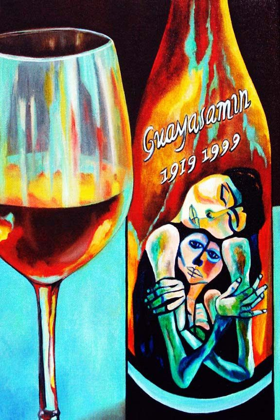 Wine Beauty Art Print Wine Glasses Art Print Bar Art Print