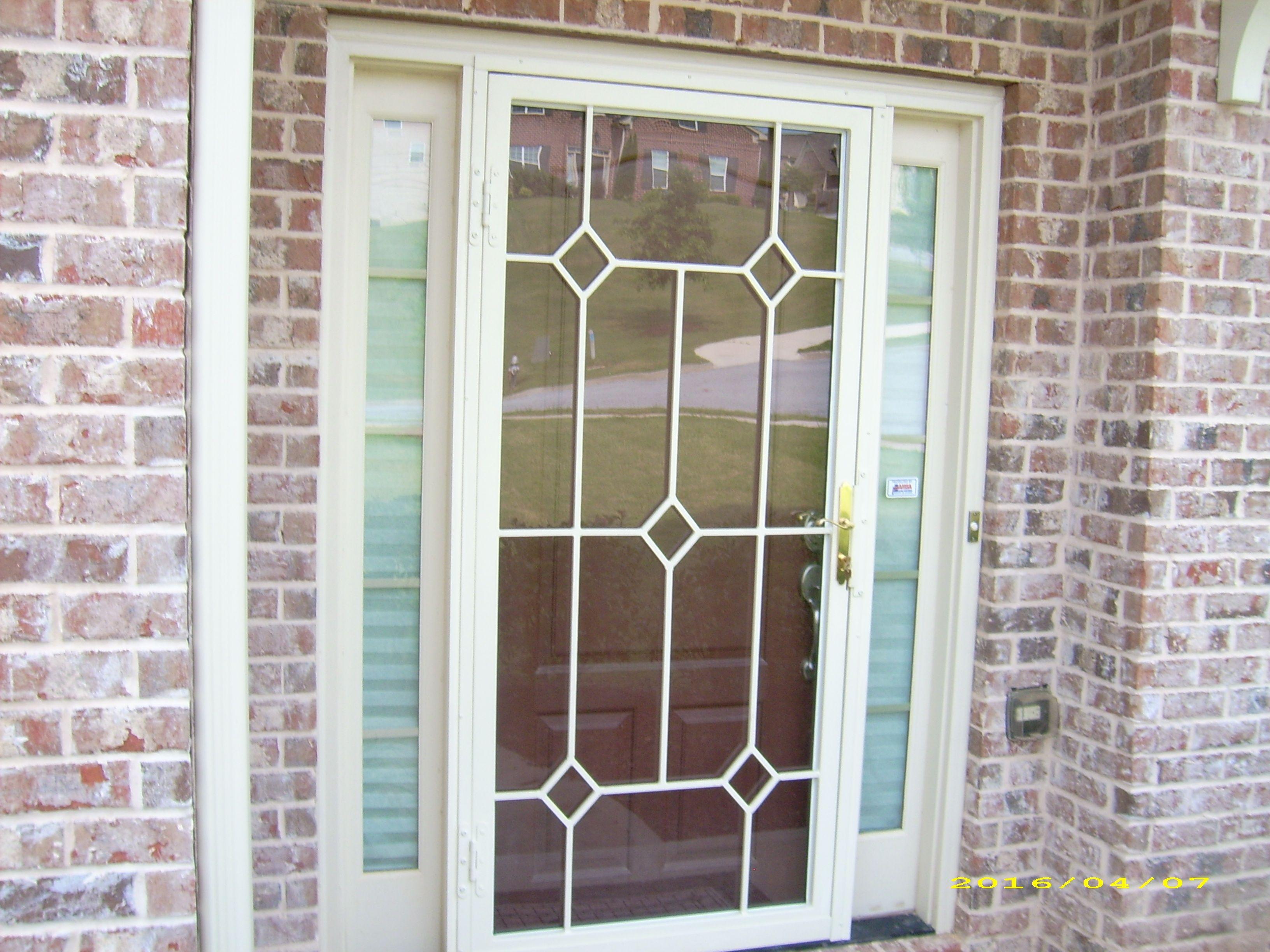 Tucson style security storm door security doors pinterest