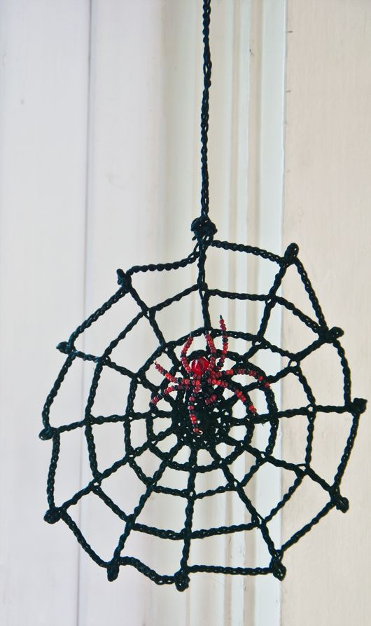 Little Crocheted Spider Web Pattern Its A Start Id Like To