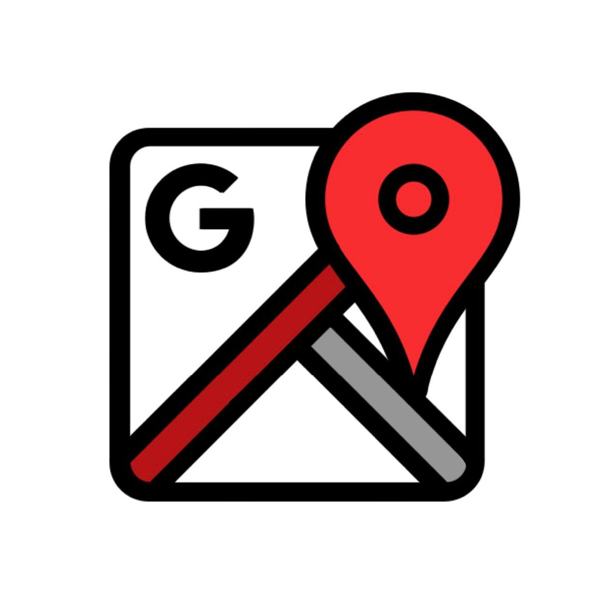 Red Google Maps Logo Map Logo App Icon Google Maps App