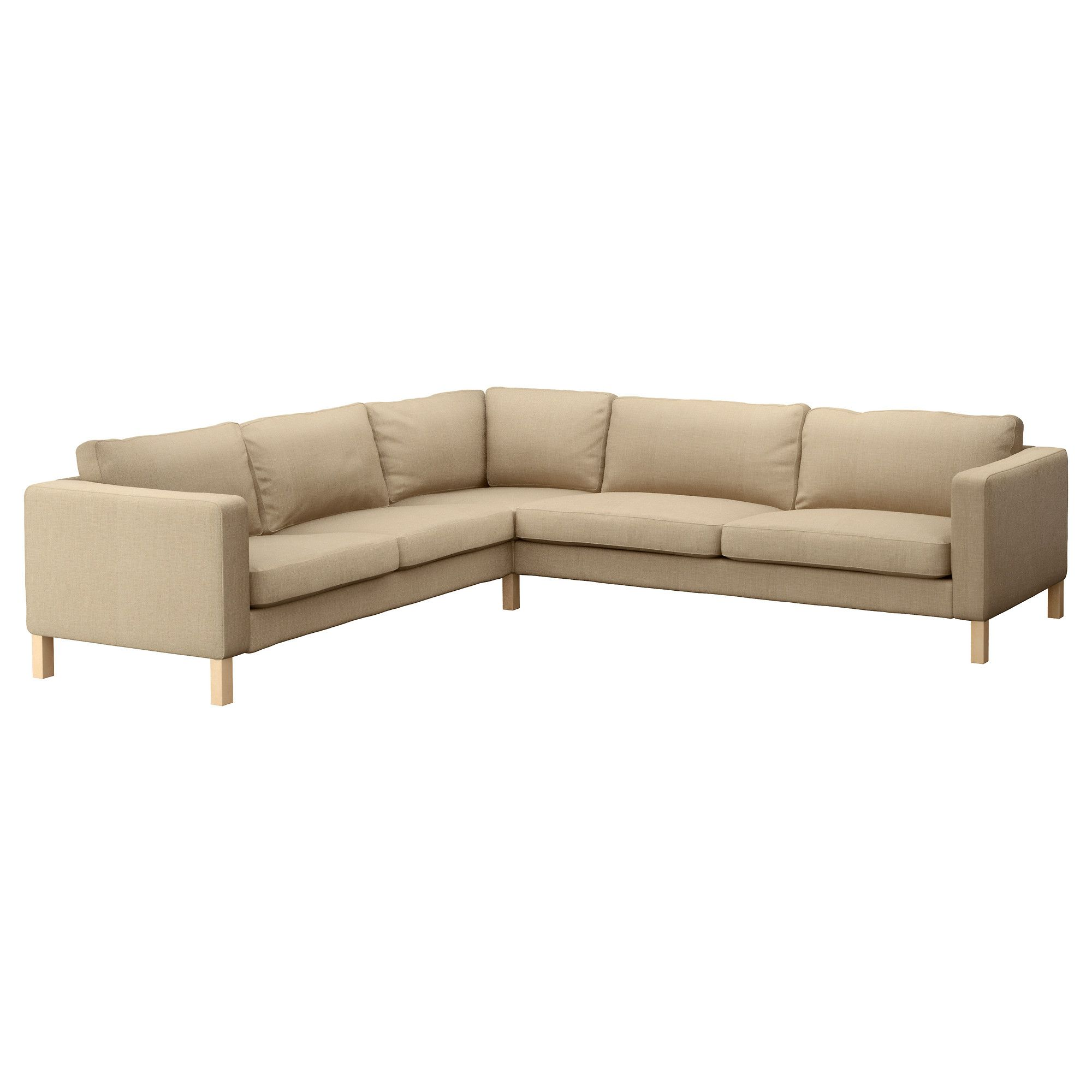 KARLSTAD Corner sofa 2 3 3 2 Lindö beige IKEA