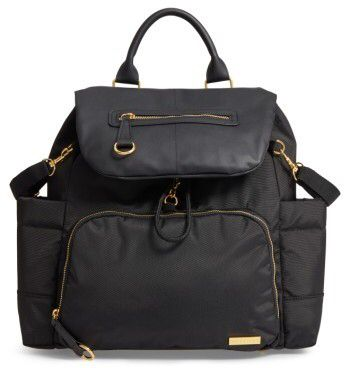 Infant Skip Hop 'Chelsea' Diaper Bag Backpack - Black. #ad http://shopstyle.it/l/p6Pn