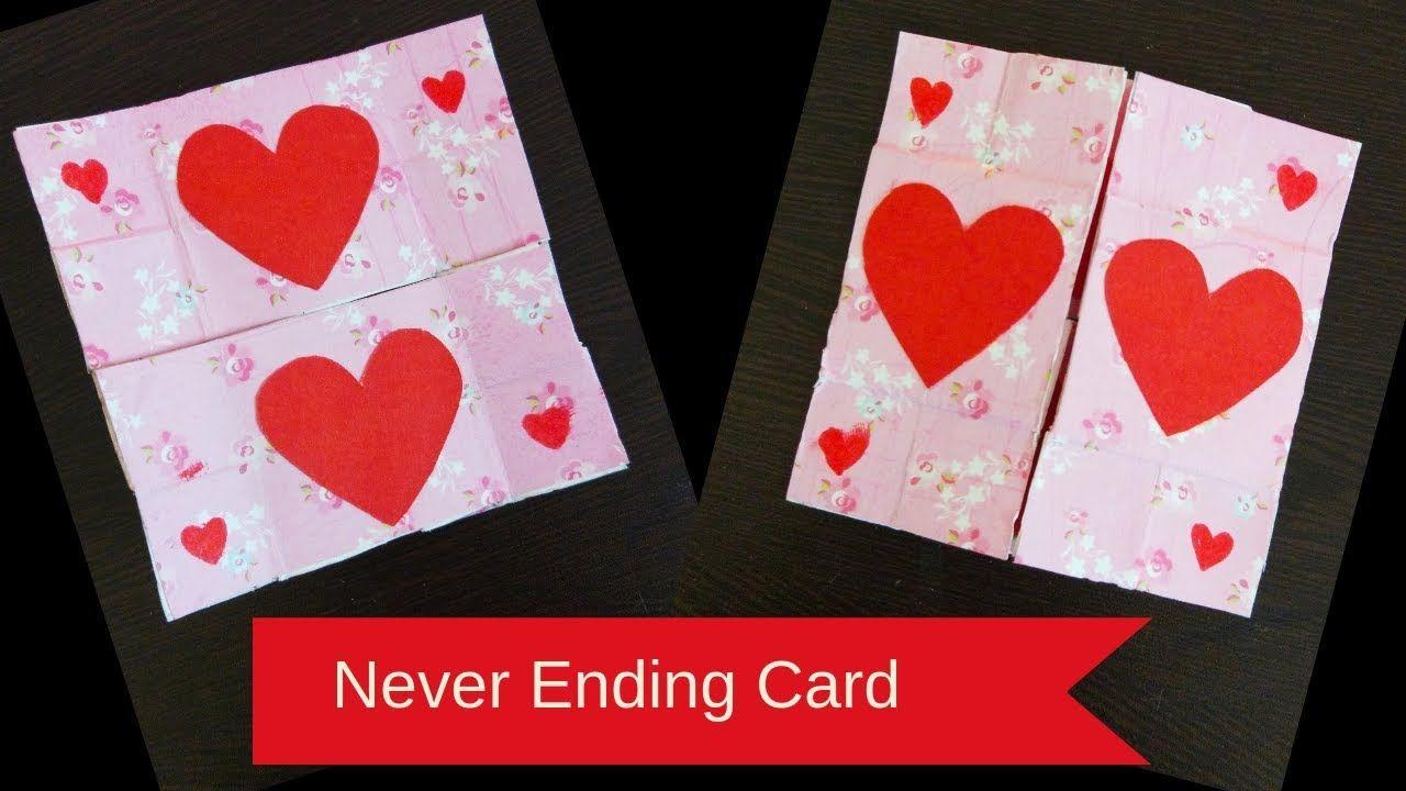 Never Ending Card Tutorial Infinite Flipper Endless Card For